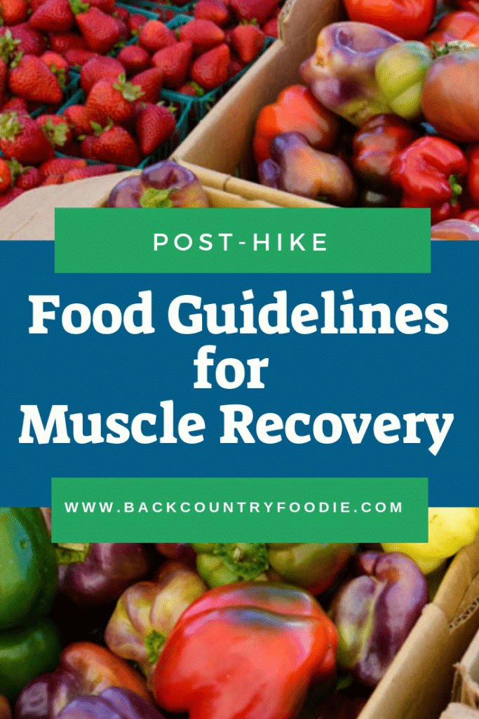 Having trouble recovering from a long hike or backpacking trip? Consuming the right amount of carbohydrate, protein and anti-inflammatory nutrients at the right time will reduce recovery time allowing you to get back on the trails with less muscle soreness. #musclerecoveryfoods #musclerecoverytips #backcountryfoodie
