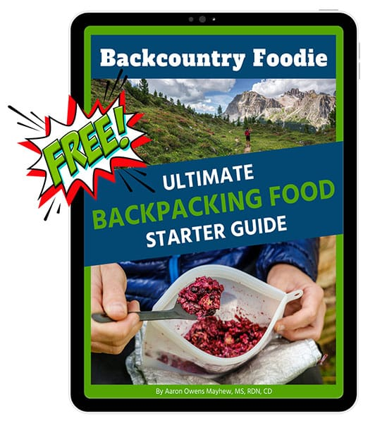 Ultimate Backpacking Food Starter Guide Cover Image