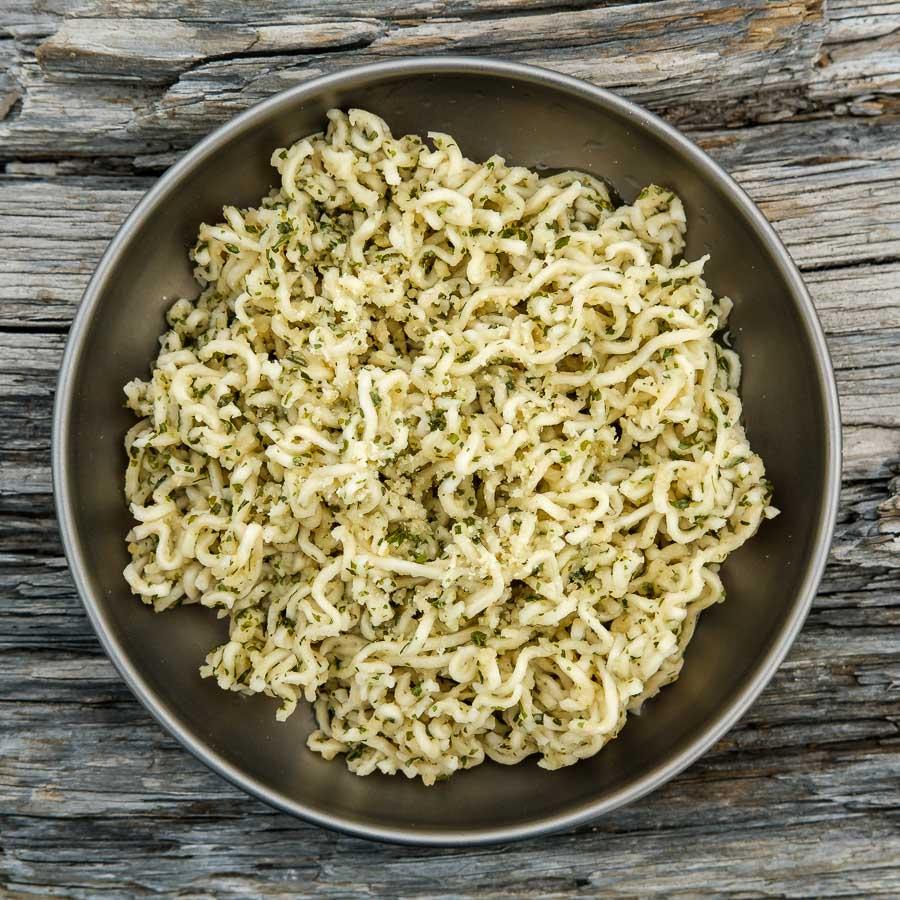 Garlic Parmesan Ramen Recipe