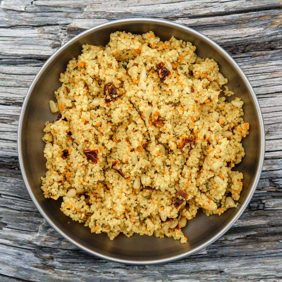 sun-dried tomato couscous backpacking recipe backcountry foodie