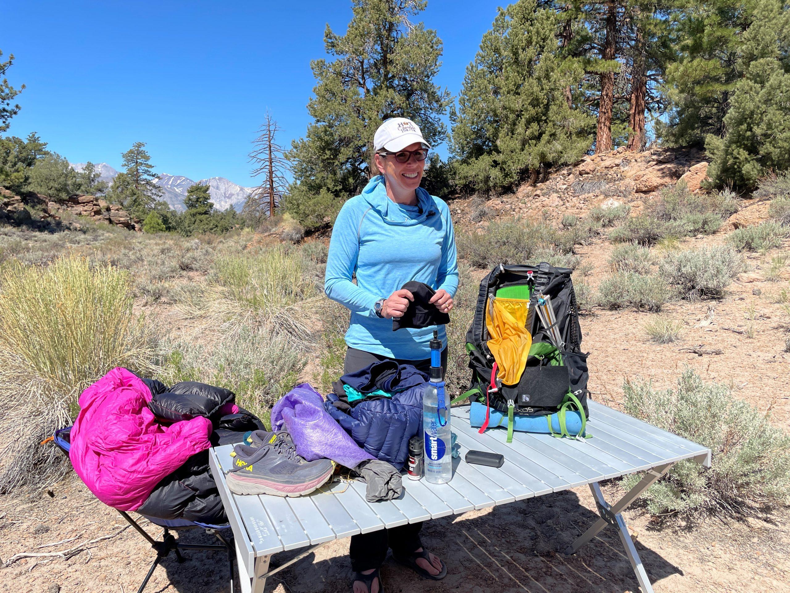 colorado trail thruhike gear list backcountry foodie