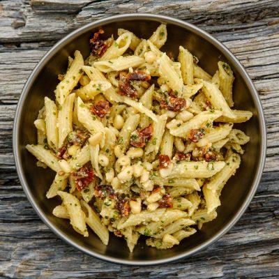 Sun-dried Tomato Pesto Pasta Recipe